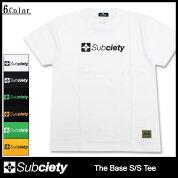 サブサエティSubcietyTシャツ半袖メンズザベース(subcietyサブサエティーTheBaseS/STeeティーシャツT-SHIRTSカットソートップス)icefiledicefield