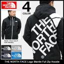 【ポイント10倍】ザ ノースフェイス THE NORTH FACE パーカー ジップアップ メンズ ロゴ マント(the north face Logo Mantle Full Zip …