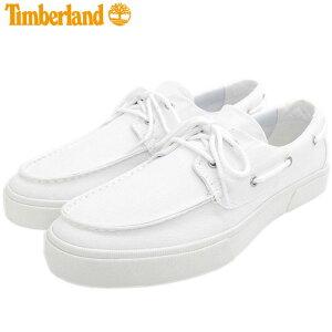 【日本正規品】ティンバーランド Timberland スニーカー メンズ 男性用 ユニオン ワーフ 2.0 EK+ ツーアイ ボート White Canvas ( A42Q1 UNION WHARF 2.0 EK+ 2 Eye Boat デッキシューズ ローカット ホワイト 白 SNEAKER MENS・靴 シューズ SHOES )