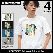 アンディフィーテッドUNDEFEATEDTシャツ半袖メンズパッチワークストライク(undefeatedUNDFTDPatchworkStrikeS/STeeティーシャツT-SHIRTSカットソートップスメンズ男性用5900872)icefiledicefield