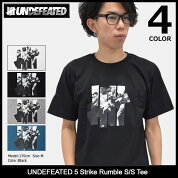 アンディフィーテッドUNDEFEATEDTシャツ半袖メンズファイブストライクランブル(undefeatedUNDFTD5StrikeRumbleS/STeeティーシャツT-SHIRTSカットソートップスメンズ男性用5900873)icefiledicefield
