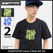 アンディフィーテッドUNDEFEATEDTシャツ半袖メンズカモファイブストライク(undefeatedUNDFTDCamo5StrikeS/STeeティーシャツT-SHIRTSカットソートップスメンズ男性用5900929)[M便1/1]icefiledicefield