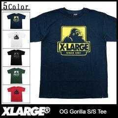 エクストララージ Tシャツ 半袖 X-LARGE OG Gorilla S/S Teeエクストララージ X-LARGE Tシャツ ...