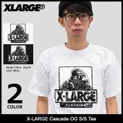 エクストララージX-LARGETシャツ半袖メンズカスケードOG(x-largeCascadeOGS/STeeティーシャツT-SHIRTSカットソートップスXLARGEExtraLargeエックスラージM17A1103)icefiledicefield