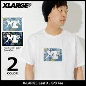 エクストララージX-LARGETシャツ半袖メンズリーフXL(x-largeLeafXLS/STeeティーシャツT-SHIRTSカットソートップスXLARGEExtraLargeエックスラージM18A1101)[M便1/1]icefiledicefield
