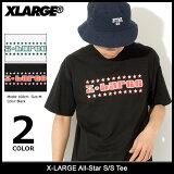 エクストララージ X-LARGE Tシャツ 半袖 メンズ オールスター(x-large All-Star S/S Tee ティーシャツ T-SHIRTS カットソー トップス XLARGE Extra Large エックスラージ M18A1121)[M便 1/1] ice filed icefield