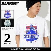 エクストララージX-LARGETシャツ半袖メンズサンタフェOG(x-largeSantaFeOGS/STeeティーシャツT-SHIRTSカットソートップスXLARGEExtraLargeエックスラージM18A1109)[M便1/1]icefiledicefield