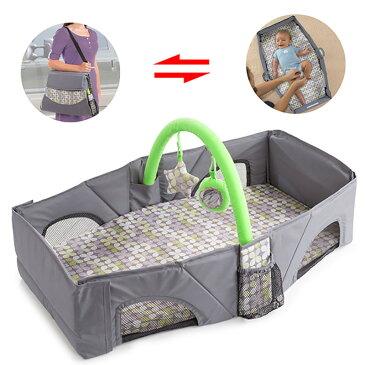 新生児ベビーベッド 添い寝 折り畳み式 持ち運び便利 帰省用 携帯式 赤ちゃん連れの旅行&外出などに ベッドインベッド
