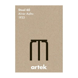 [ ARTEK(アルテック)] ポスター アイコン Stool 60