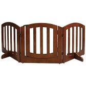【送料無料】SIMPLY+ WOODEN GATE 木製ゲート シンプリーシールド ラグジュアリー 3パネル(ドア付き) FWW-3Panels【同梱・代引き不可】