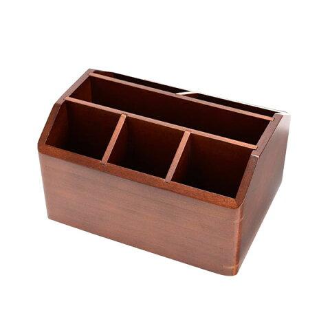 茶谷産業 日本製 木製回転式リモコンラック 020-103【同梱・代引き不可】