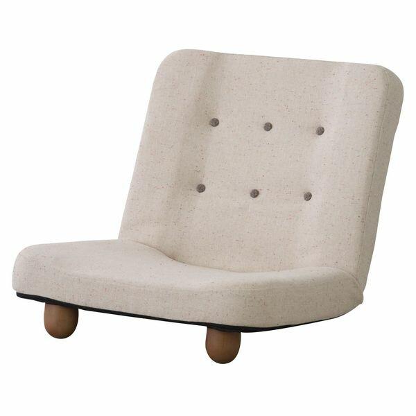 スマート 脚付き座椅子 AZUMAYA RKC-930BE BE おしゃれ デザイン家具 インテリア 家具 【代引不可】【同梱不可】