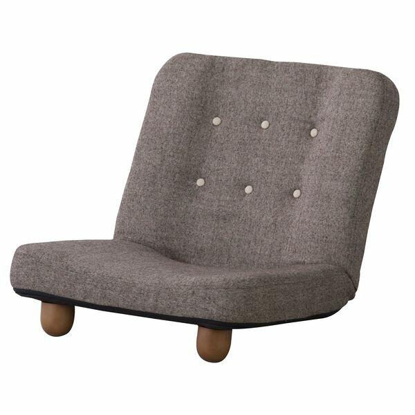 スマート 脚付き座椅子 AZUMAYA RKC-930BR BR おしゃれ デザイン家具 インテリア 家具 【代引不可】【同梱不可】