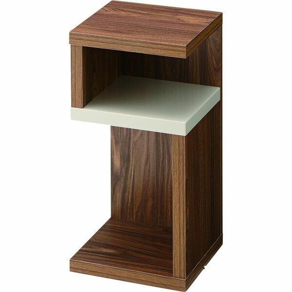 ロジック サイドテーブル AZUMAYA SO-332WAL WAL おしゃれ デザイン家具 インテリア 家具 【代引不可】【同梱不可】