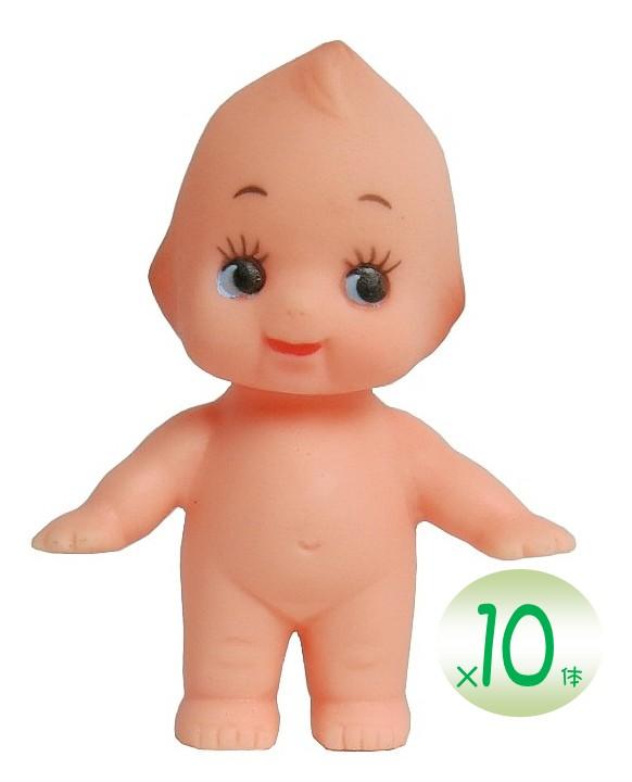 国産 キューピー人形 身長5cm(10体セット) 裸 キューピー 人形 キューピッド ウェルカムドール 着せ替え 制服 コスプレ ぬいぐるみ クラフト ご当地 キューピー