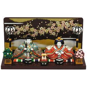 Uchiura Hina Haruka with tools Hina Doll / Hina Doll / Peach Festival / Hina Matsuri / Childbirth Celebration / First Festival / Seasonal Decoration / Small / Compact / Parental Decoration / Midori Hana _Wrapping】 【Easy gift _ glue】