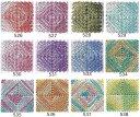 Panami メタリックヤーン<ルビー>526〜538 パナミ・メタリックカラー・メタリック手芸・キャンバス手芸