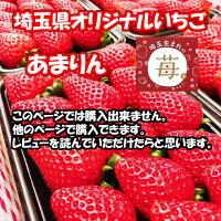 埼玉県オリジナルあまりんいちご30粒前後500グラム
