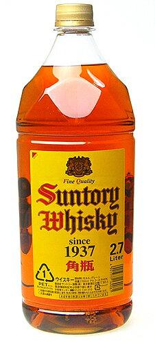 2700 ml square bottle Suntory whiskey