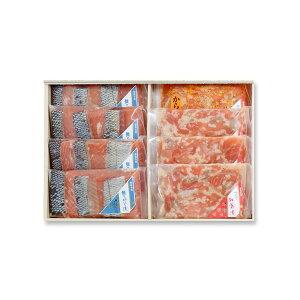 阿武隈の紅葉漬・鮭のこうじ漬 詰め合わせ T-50受発注商品 送料無料・クール代込 福島紅葉漬 紅葉漬け