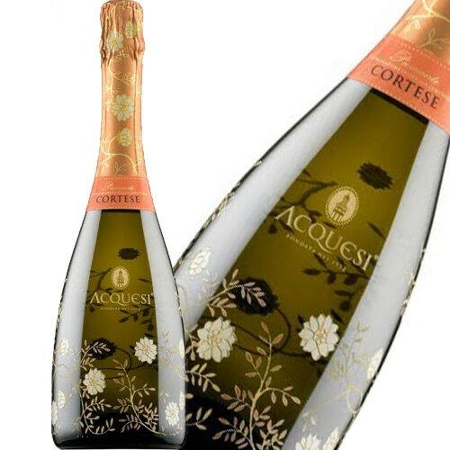 スパークリングワインアックエジーピエモンテコルテーゼスプマンテエクストラドライ750mlイタリア泡辛口