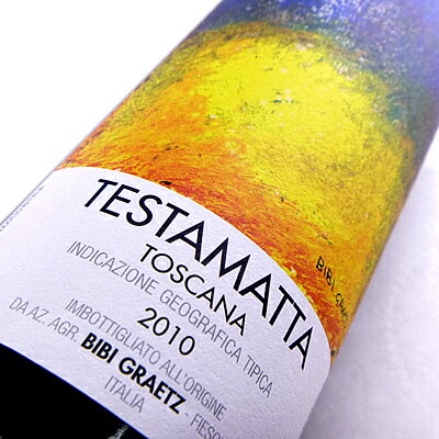 テスタマッタディビービーグラーツ[2010]スーパータスカントスカーナの赤ワイン