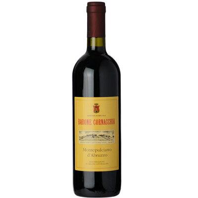 赤ワインバローネコルナッキアモンテプルチャーノダブルッツォ2012ハーフ375mlイタリア