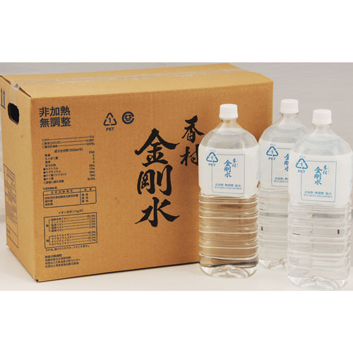 香村金剛水ミネラルウォーター日本