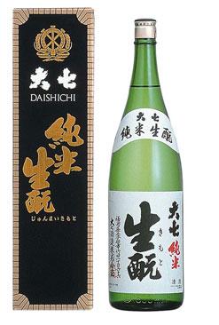 【大七酒造】純米生もと1800ml