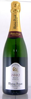 Mathieu plans champagne 2002 750 ml