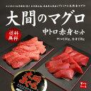 【送料無料】一度は食べたい大間のマグロ、中トロ&赤身セット3...