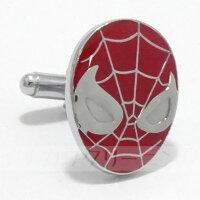 スパイダーマン【送料無料】【あす楽対応】カフスカフスボタンカフリンクス