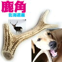北海道産★鹿の角★犬のおもちゃ 15〜25cm大型犬〜中型犬...