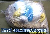 ぬいぐるみクリーニング【大】(75cm×80cm以内45Lゴミ袋に入る大きさ)