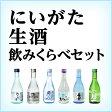 にいがた生酒 飲みくらべセット【送料無料】(一部地域を除く)