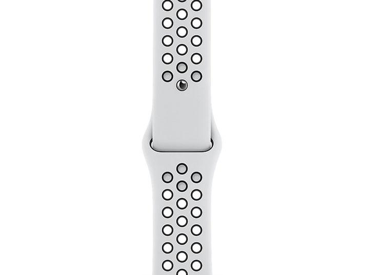新品・AppleWatchNikeSeries6GPS+Cellularモデル44mmM09W3J/A[ピュアプラチナム/ブラックNikeスポーツバンド]送料無料
