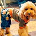【BIGバーゲン】【50%OFF】【小型犬/SS・S】(ALPHAICON JEANS)Safari Jeans(サファリジーン...
