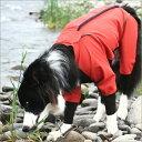 【カバーオール】雨が降っても楽しいお散歩♪伸縮する高性能【犬用レインコート】アルファアイ...