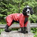 【カバーオール】雨が降っても楽しいお散歩♪伸縮する高性能【犬用レインコート】【期間限定お...