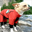 【ICONS】犬 レインコート/レインドッグガード(旧モデル)/ドッグウェア/犬服/犬 服/カバーオール/つなぎ/オールインワン/アルファアイコン/ALPHAICON/撥水/防寒/機能的/レインウェア/ペットウェア【小型犬/SS】