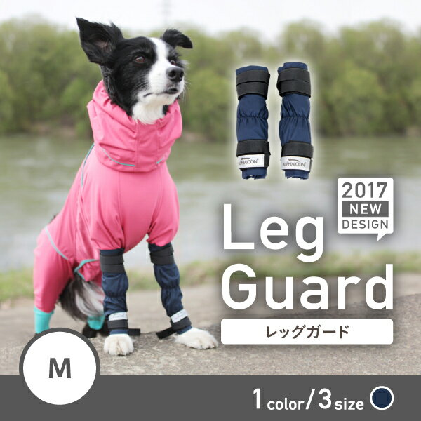 【ALPHAICON】レッグガード Mサイズ 2017年モデル 2個入り1セット【アルファアイコン】