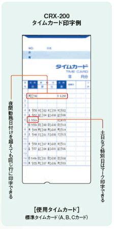 アマノAMANOCRX-200(BU)ブルーオリジナルタイムカード(アマノ標準カードA・B・C互換品)2箱付★レビュー投稿でさらに粗品進呈アリ★タイムプラザ
