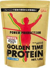 グリコ ゴールデンタイムプロテイン サワーミルク味【1kg】POWER PRODUCTION パワープロダクション