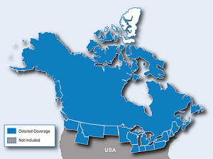 CityNavigatorNorthAmericaNT-CanadaonlymicroSD/SDcard(シティナビゲーターカナダmicroSD/SDカード)
