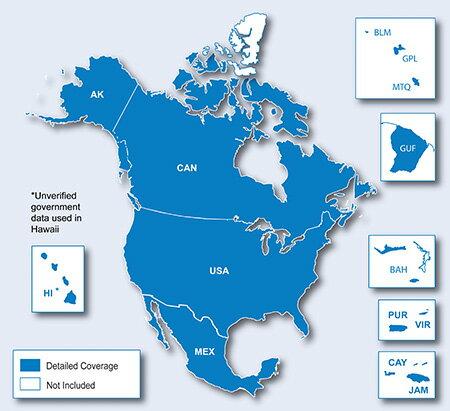 訳あり特価品 City Navigator North America NT microSD/SD card(シティナビゲーター北米 NT microSD/SDカード)GARMIN(ガーミン)≪あす楽対応≫