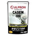 カゼインプロテイン 3kg(約150食)プレーン味国産アルプロン