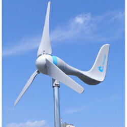 究極の自然エネルギー風力発電!防災・非常用・予備電源として[風で電力を確保]エアードラゴン6...