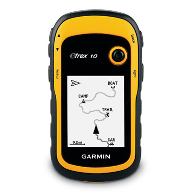 ガーミン 登山用 ハンディ GPS eTrex 10J