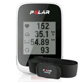 POLAR(ポラール)【M450HR ホワイト】(GPS内蔵・心拍センサー付)【日本語対応/日本正規品】【送料・代引手数料無料