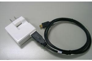 [新発売]ACアダプター+外部バッテリー用 USBケーブル【Oregon/Colorado/Edge/nuvi対応】《あす...